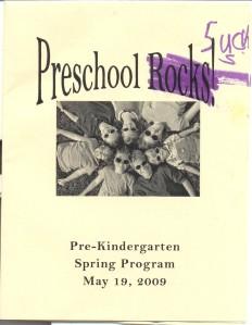 Preschool Rocks, er Sucks